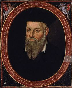 Nostradamus. Sus profecías son famosas